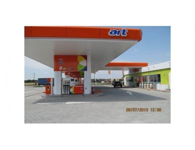 Art Oil Gas Station - Alexandria